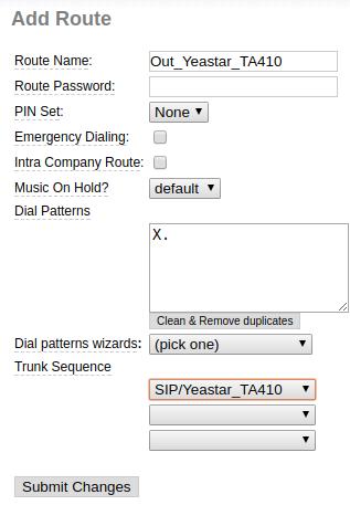 Menghubungkan VoIP Gateway Yeastar TA410 (4FXO) dengan