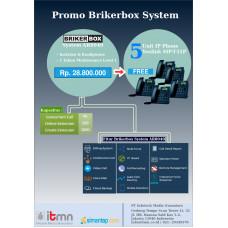 Paket Brikerbox System AR8040 Free IP Phone