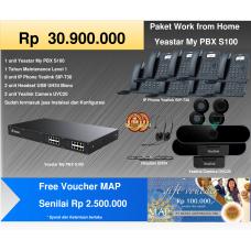 Paket MyPBX Yeastar S100 + Free Voucher MAP Rp 2.500.000,-