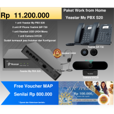 Paket MyPBX Yeastar S20 + Free Voucher MAP Rp 800.000,-