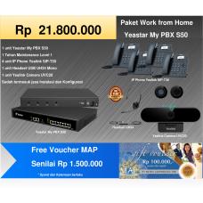 Paket MyPBX Yeastar S50 + Free Voucher MAP Rp 1.500.000,-