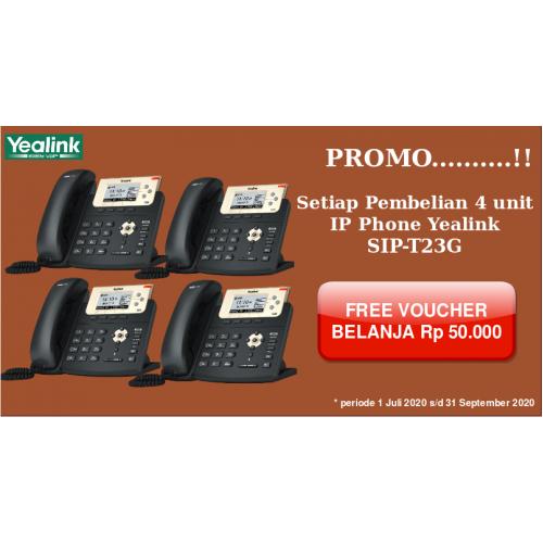 Paket 4 unit Yealink SIP T23G
