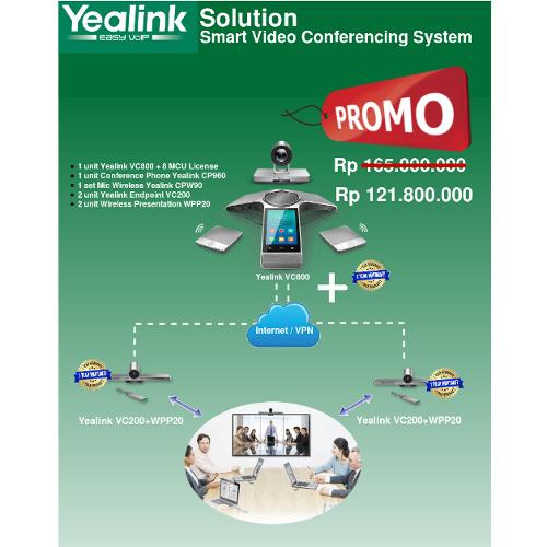 Paket Promo Video Conference System VC800 dan VC200