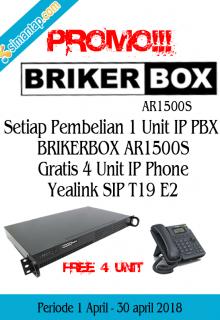 Brikerbox free IP Phone