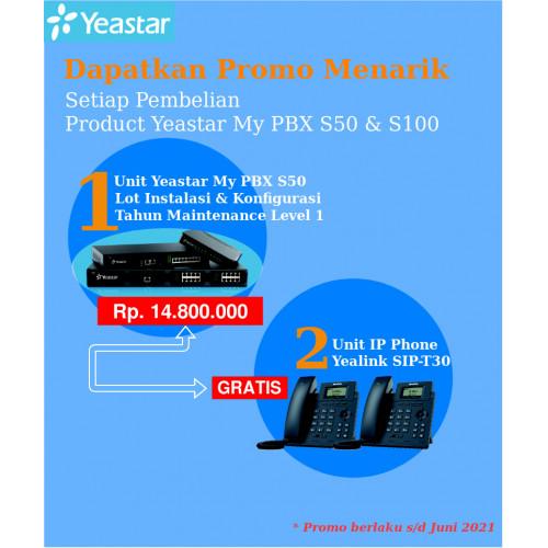 Paket MyPBX Yeastar S50 Free IP Phone