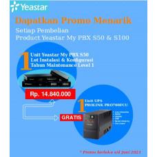 Paket MyPBX Yeastar S50 Free UPS